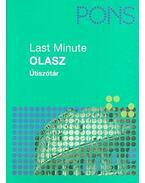 Last Minute - Olasz Útiszótár