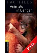 Animals in Danger Audio CD Pack - Stage 1
