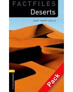 Deserts Audio CD Pack - Stage 1