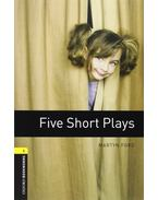 Five Short Plays Audio CD Pack - Stage 1