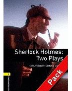 Sherlock Holmes: Two Plays Audio CD Pack - Stage 1