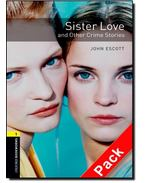 Sister Love and Other Crime Stories Audio CD Pack - Stage 1