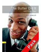 The Butler Did It and Other Plays Audio CD Pack - Stage 1
