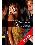 The Murder of Mary Jones Audio CD Pack - Stage 1