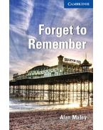 Forget to Remember - Level 5