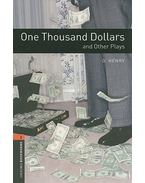 One Thousand Dollars and Other Plays - Stage 2