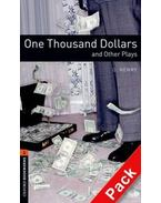 One Thousand Dollars and Other Plays Audio CD Pack - Stage 2