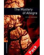 The Mystery of Allegra Audio CD Pack - Stage 2