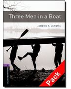 Three Men in a Boat Audio CD Pack - Stage 4