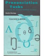 Pronunciation Tasks - A Course for Pre-Intermediate Learners - Teacher's Book