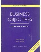 Business Objectives - Teacher's Book