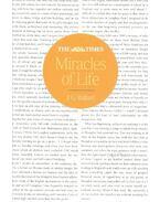 Miracles of Life - Ballard, J. G.