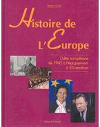 Histoire de l'Europe, Idée européenne de 1945 á l'élargissement á 25 membres