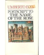 Postscript ot The Name of the Rose