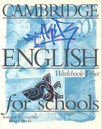 Cambridge English Workbook Four for Schools
