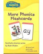 More Phonics Flashcards
