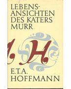 Lebensansichten des Katers Murr - E. T. A. Hoffmann