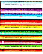 A Series of Unfortunate Events--books 1-10 boxed set