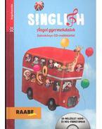 Singlish - Angol gyermekdalok (könyv + CD)