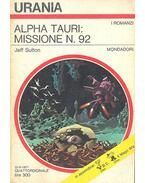 Alpha tauri: missione N. 92