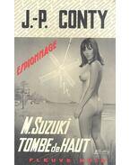 M. Suzuki tombe de haut
