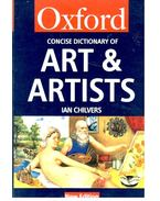 Concise Dictionary of Art & Artists