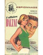 L'affaire Balzac