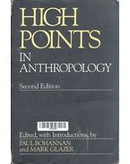 High Points in Anthropology