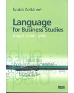 Language for Business Studies - Angol üzleti nyelv