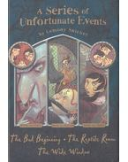 The Bad Beginning - The Reptile Room - The Wide Window