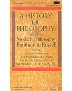A History of Philosophy - Modern Philosophy