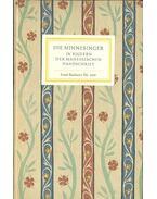 Die Minnesinger - In Bildern der Manessichen Handschrift