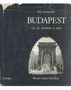 Budapest - wie ein Architekt es sieht (dedikált)