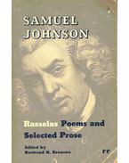 Rasselas, Poems and selected Prose