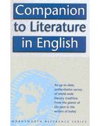 Companion to Literature in English