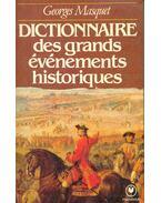 Dictionnaire des grands événements historiques