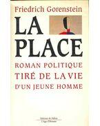 La place : roman politique tire de la vie d´un jeune homme