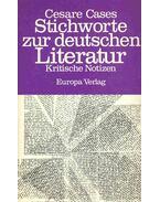 Stichworte zur deutschen Literatur