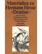 Materialien zu Hermann Hesse - Demian II. Band: Wirkungsgeschichte