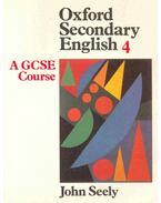Oxford Secondary English 4 - A GCSE Course