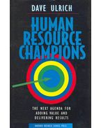 Human Resource Champoins