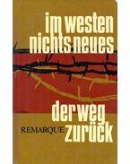 Im Westen nichts neues; Der Weg zurück