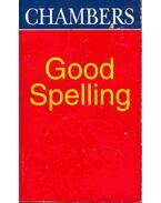 Good Spelling