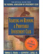 Starting and Runninga Profitable Investment Club