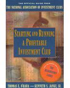 Starting and Runninga Profitable Investment Club
