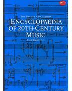 Encyclopaedia of 20th-Century Music