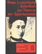Schriften zur Theorie der Spontaneität