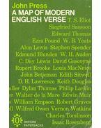A Map of Modern English Verse