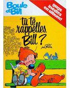 Boule et Bill :  Tu te rappelles, Bill ?