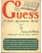 Go Till You Guess - A Bible Recreation Book